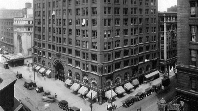 Masonic Temple WTTW Chicago