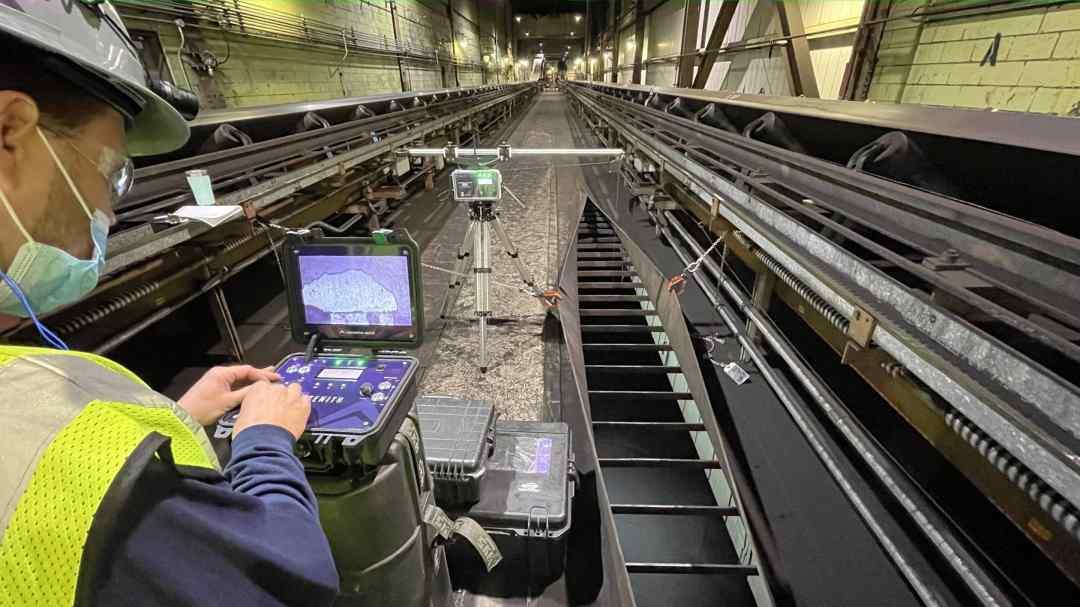 Zenith inspecting Coal Silos