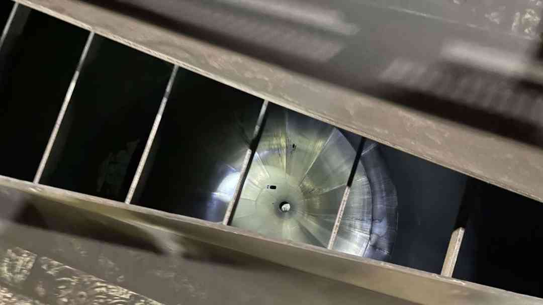 Zenith Inspects Coal Silo Cone-to-Skirt Weld
