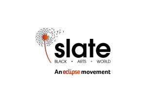 Slate Logo_Black + Orange With Strap