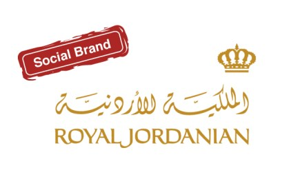 Royal Jordanian social media marketing