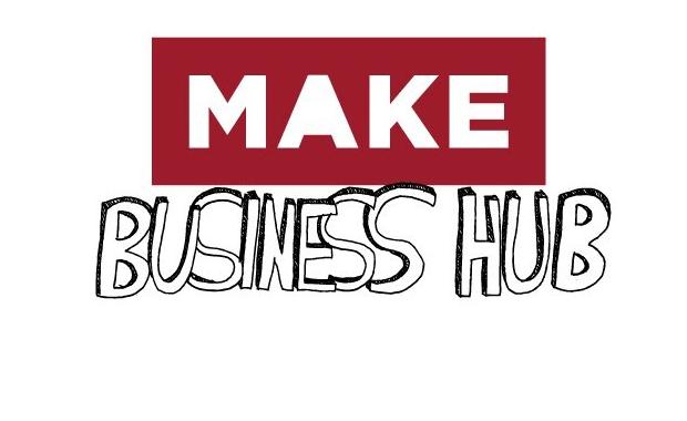 MAKE business hub logo