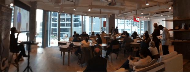 business plan workshop at MAKE business hub