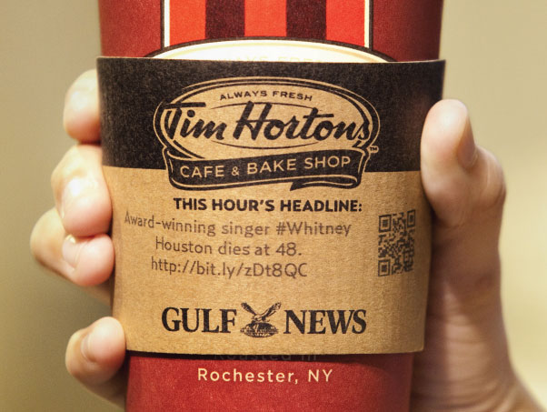 The Headline News Cup Sleeve 2