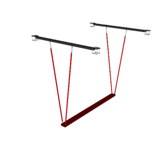 NW-OUBP-S-0610@Unstable_Balance_Plank_Single_Plank_for_Katana_Frame@8.000×7.500x.250