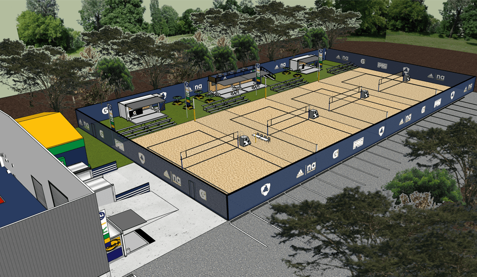 RIO Beach Volleyball designed