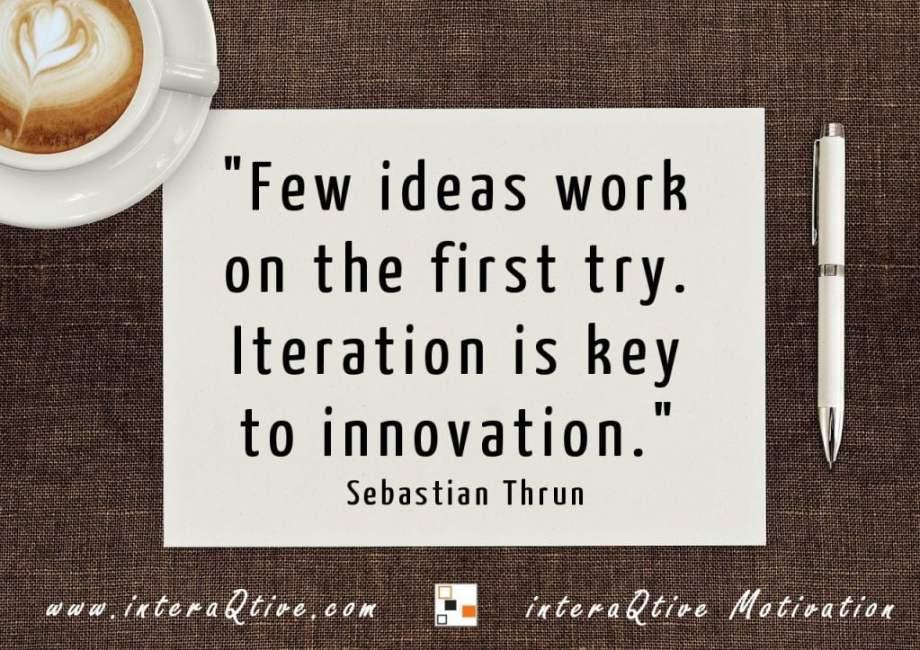 Bringing ideas into action - #MondayMotivation