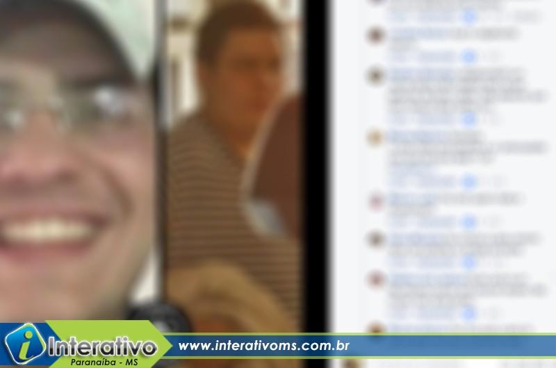 Paranaibense é ameaçado após ser envolvido por engano em discussão de Facebook