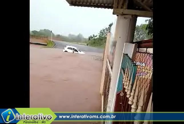 O descaso do poder público com o problema crônico com as chuvas em Paranaíba