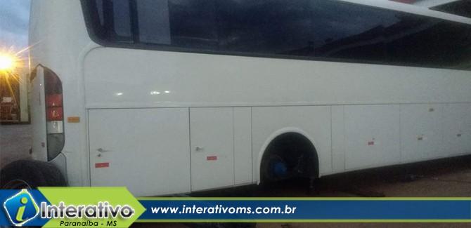Ônibus com pacientes de Paranaíba perde freios em viagem para Campo Grande