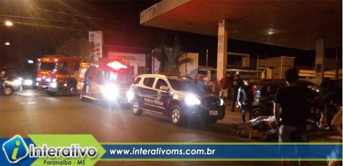 Suspeitos tentam fugir da PM e envolvem três carros em acidente no centro de Paranaíba