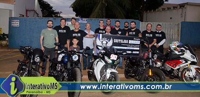 Motoclube faz doação para o asilo Santo Agostinho