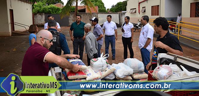 Comitiva e Rotary fazem doação ao Asilo Santo Agostinho
