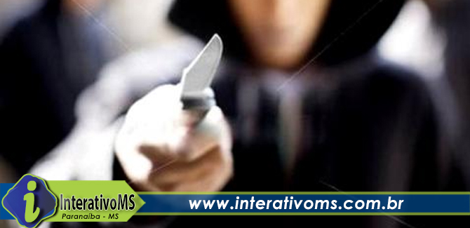 Homem armado com faca invade banco em Cassilândia
