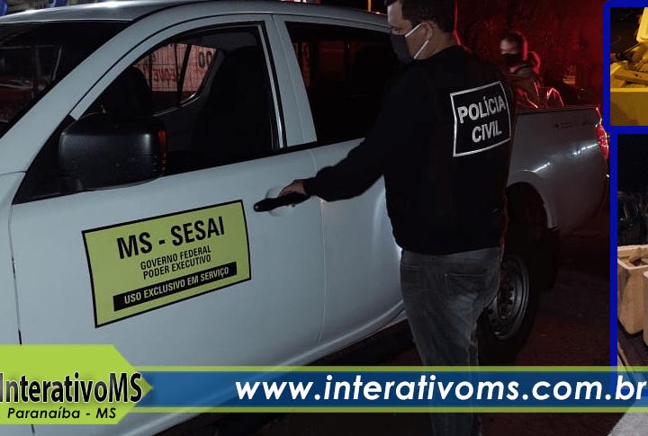 Servidor público é preso com 350kg de maconha em carro do Governo Federal