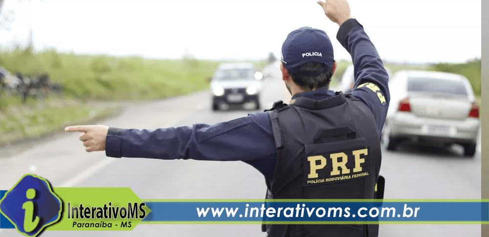 Embriagado e com mandado de prisão em aberto homem é detido pela PRF em Paranaíba