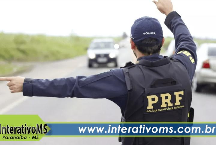 Motorista embriagado bate em base da PRF em Paranaíba
