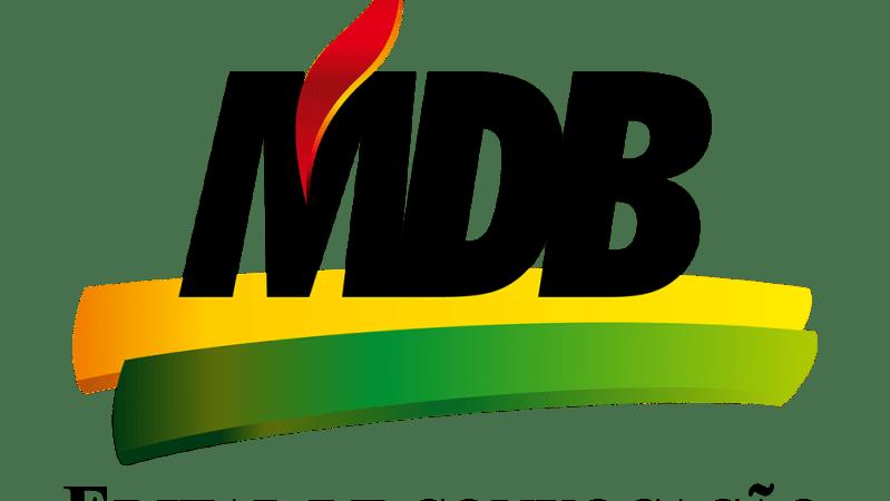 Edital de convocação MDB