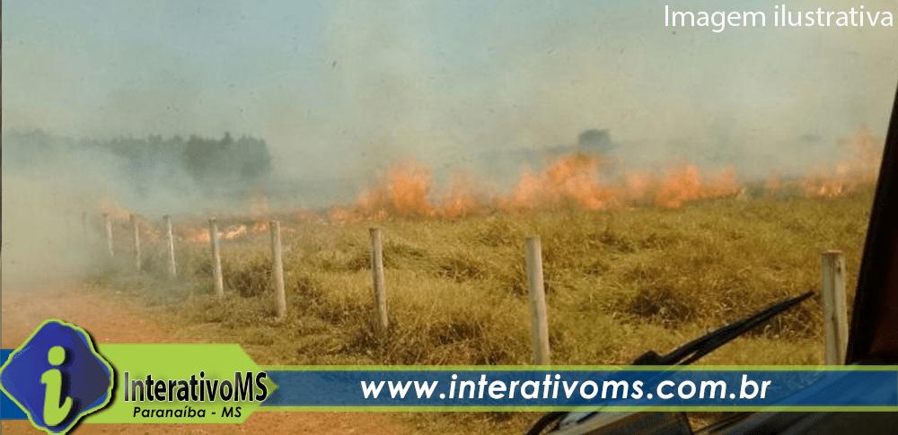 Homem é preso por incêndio criminoso em fazenda de Cassilândia