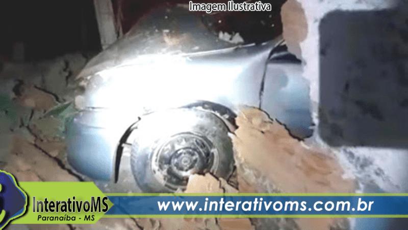 Motoristas embriagados causam três acidentes em Paranaíba