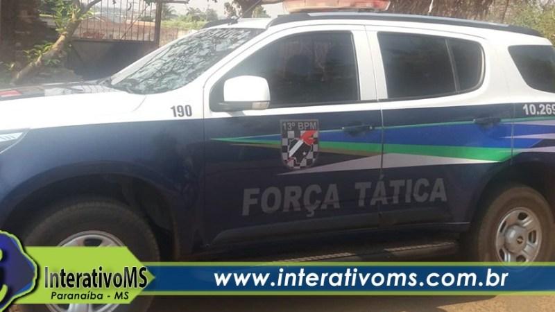 Após ser flagrado com maconha na boca homem ameaça policiais em Paranaíba