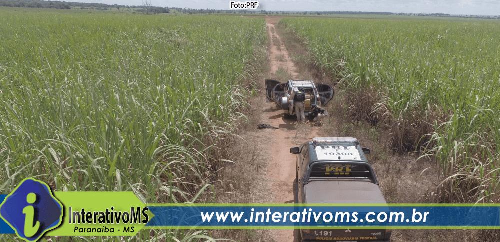 PRF apreende mais de uma tonelada de maconha em Paranaíba