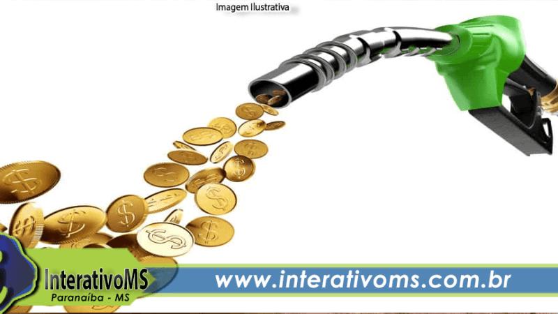 Com novo aumento na sexta; gasolina pode passar de R$ 5,80 em Paranaíba