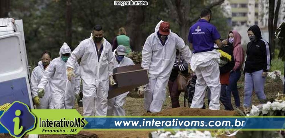 Domingo tem mais uma morte por Covid-19 em Paranaíba