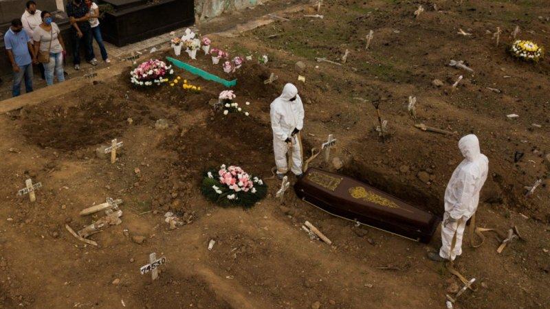 Brasil registra novo recorde com 3.251 mortes por Covid-19 em 24 horas