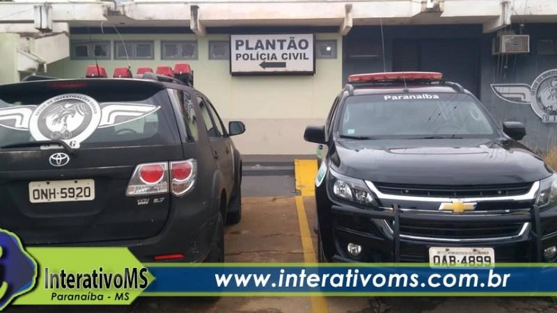 Obra é furtada no centro de Paranaíba