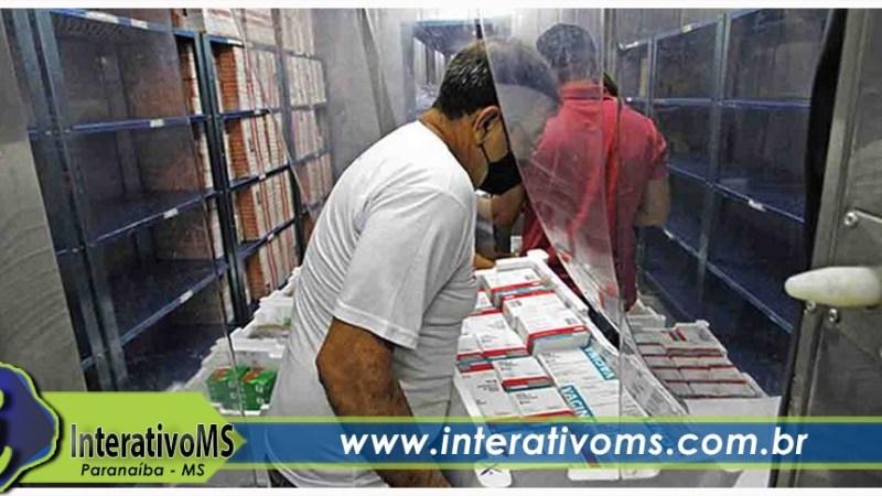 Ministério da Saúde confirma envio de 103,9 mil doses de vacina contra covid esta semana para MS