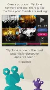 iOS Vyclone Uygulaması nasıl kullanılır