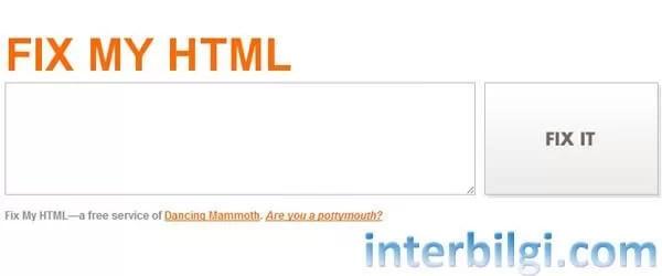 hatalı html kodlarını temizleme