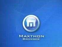 Maxthon Web Tarayıcısı