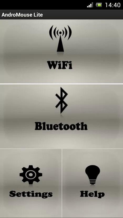 telefonu fare ya da klavye olarak kullanma