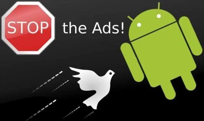Android telefonlarda çıkan reklamları engelleme