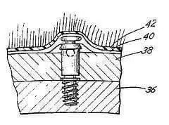 en garip patent sabitlenen peruk