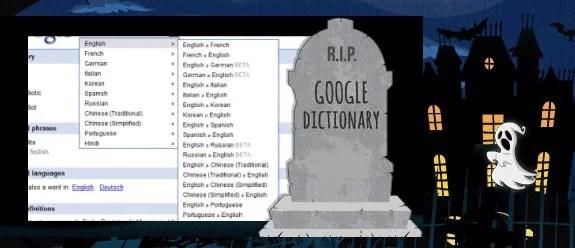 R.I.P Google Dictionary