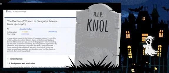 R.I.P Knol