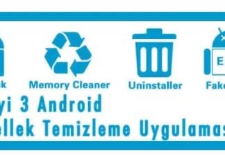 En İyi 3 Android Önbellek Temizleme Uygulaması