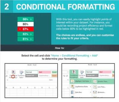 Excel Biçimlendirme Türleri
