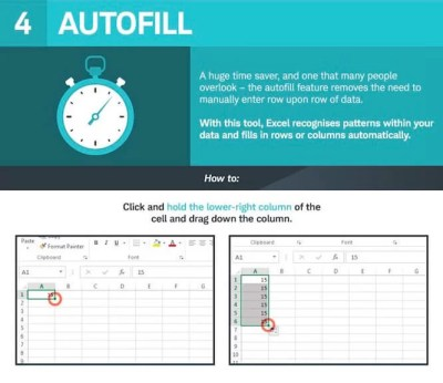 Excel Otomatik Doldurma