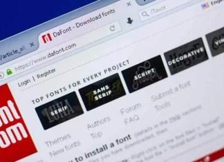 DaFont'a En İyi 10 Alternatif | DaFont Benzeri Siteler