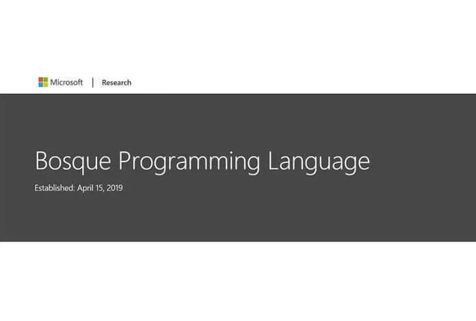 Microsoft'un Yeni Programlama Dili 'Bosque' Kodunuzu Basit Tutuyor