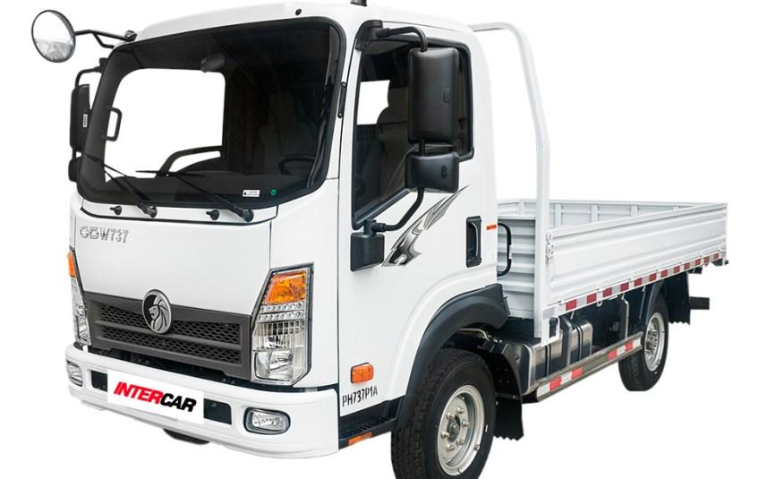 Camión Sinotruk 3Ton