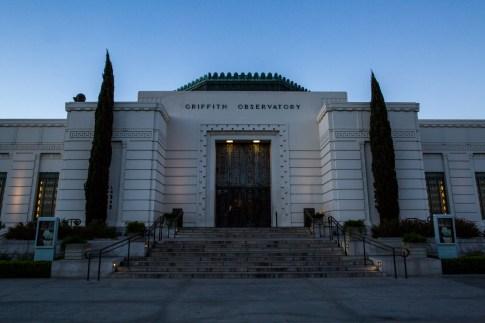 Sunrise Griffith Observetory
