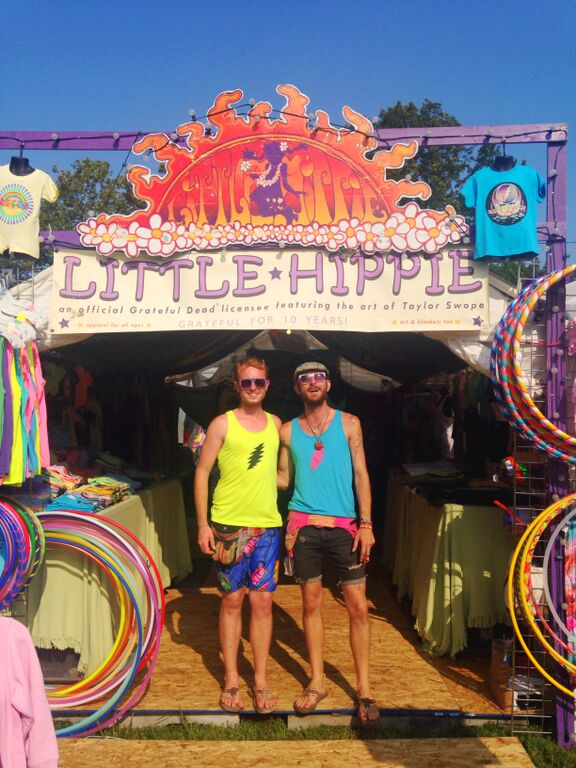 Little Hippie at Gathering of the Vibes 2014 Stephen & Charlie