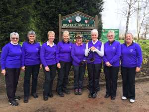 The Sun's out for Hinckley Ladies
