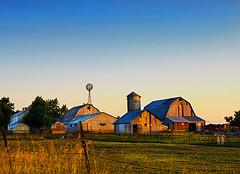 farm skyline