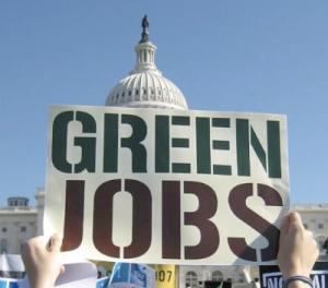 green jobs sign